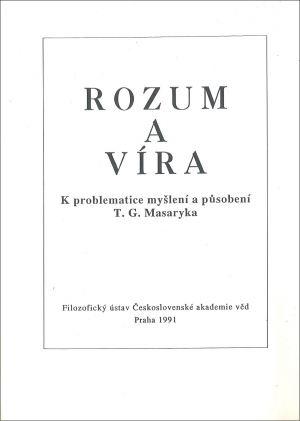 publikace Rozum a víra