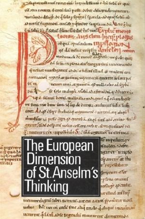 publikace The European Dimension of St. Anselm's Thinking