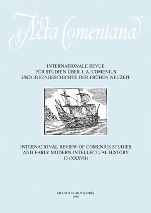 publikace Acta Comeniana 13