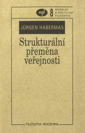 publikace Strukturální přeměna veřejnosti