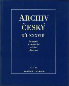 publikace Popravčí a psanecké zápisy jihlavské z let 1405-1457