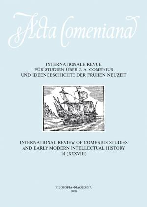 publikace Acta Comeniana 14