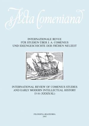 publikace Acta Comeniana 15-16