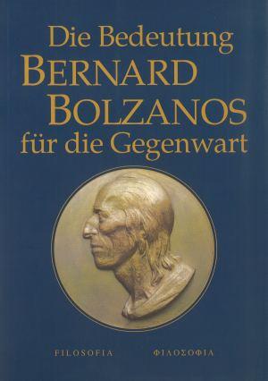 publikace Die Bedeutung Bernard Bolzanos für die Gegenwart
