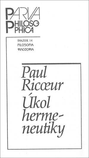publikace Úkol hermeneutiky