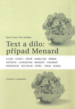 publikace Text a dílo: případ Menard