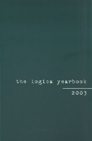 publikace The Logica Yearbook 2003