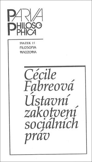 publikace Ústavní zakotvení sociálních práv