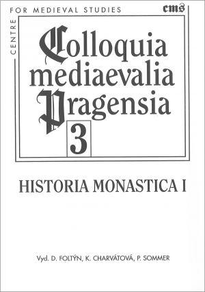 publikace Historia monastica I