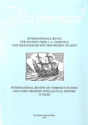 publikace Acta Comeniana 19