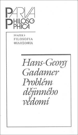 publikace Problém dějinného vědomí