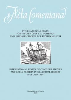 publikace Acta Comeniana 20-21