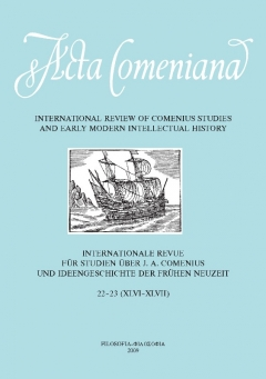 publikace Acta Comeniana 22-23