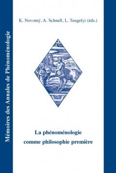 publikace La phénoménologie comme philosophie première