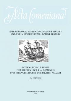 publikace Acta Comeniana 24
