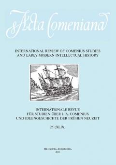 publikace Acta Comeniana 25