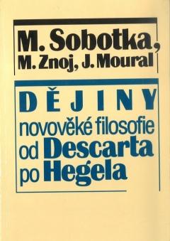 publikace Dějiny novověké filosofie od Descarta po Hegela