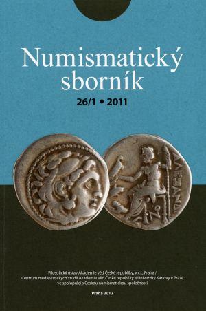 publikace Numismatický sborník 26 (č. 1)