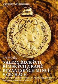 publikace Nálezy řeckých, římských a raně byzantských mincí v Čechách