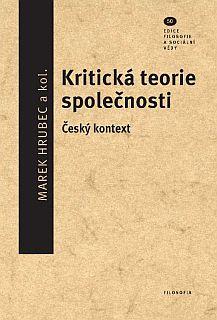 publikace Kritická teorie společnosti