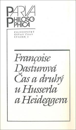 publikace Čas a druhý u Husserla a Heideggera