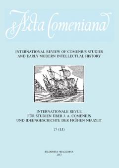 publikace Acta Comeniana 27