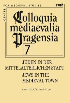 publikace Juden in der mittelalterlichen Stadt/Jews in the medieval town