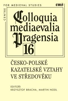 publikace Česko-polské kazatelské vztahy ve středověku