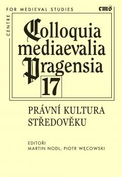 publikace Právní kultura středověku