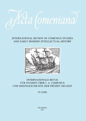 publikace Acta Comeniana 29