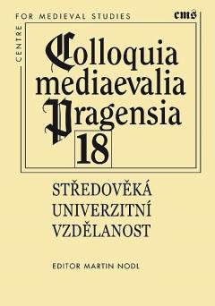 publikace Středověká univerzitní vzdělanost