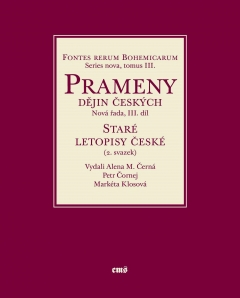 publikace Staré letopisy české (2. svazek)