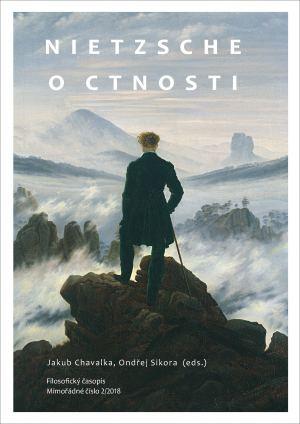 obálka publikace Nietzsche o ctnosti