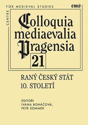 publikace Raný český stát 10. století