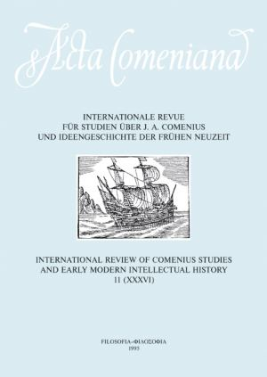 publikace Acta Comeniana 11
