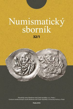 obálka publikace Numismatický sborník 32 (č.1)