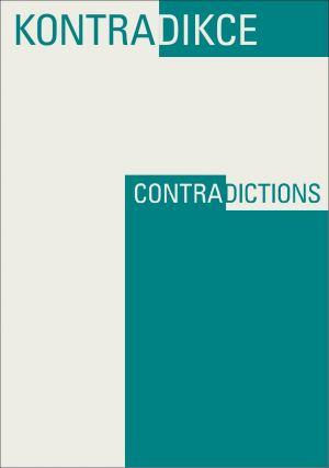 obálka publikace Kontradikce / Contradictions 1-2/2019 (3. ročník)