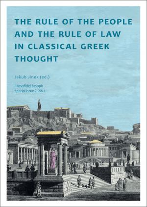 obálka publikace The Rule of the People and the Rule of Law in Classical Greek Thought