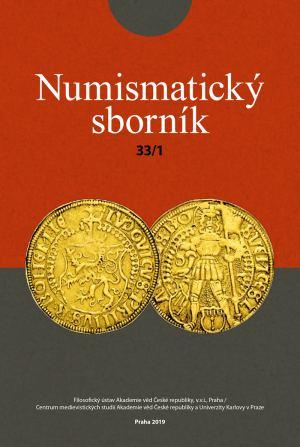 obálka publikace Numismatický sborník 33 (č. 1)