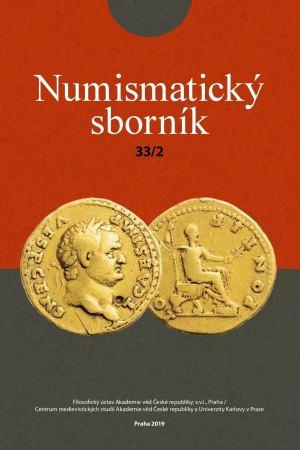 obálka publikace Numismatický sborník 33 (č. 2)