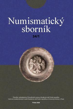obálka publikace Numismatický sborník 34 (č. 1)