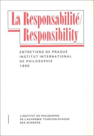 publikace La Responsabilité / Responsibility