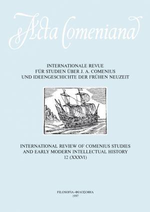 publikace Acta Comeniana 12
