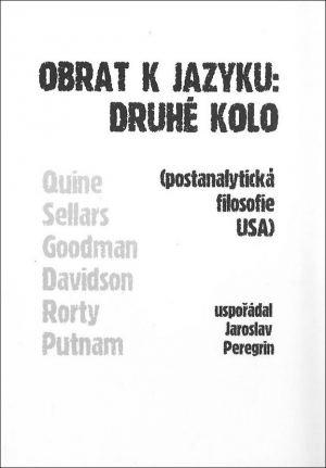 publikace Obrat k jazyku: Druhé kolo